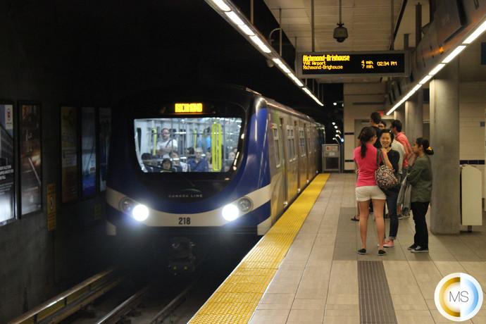 Skytrain Vancouver