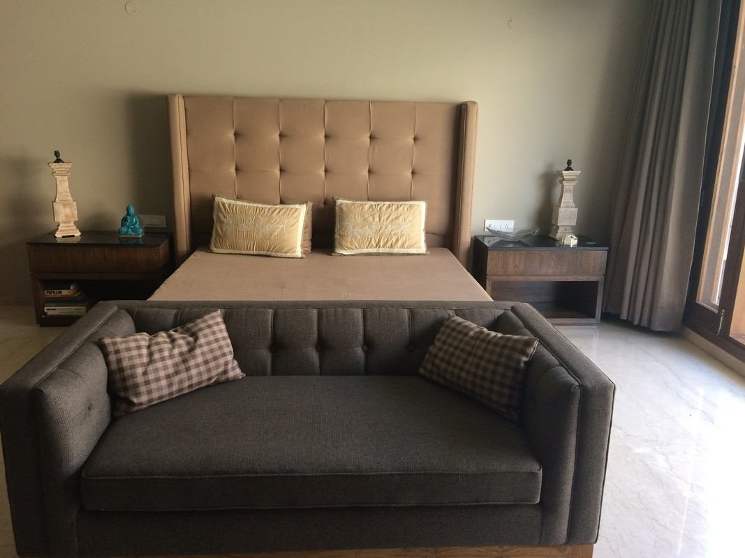 Very large bedrooms