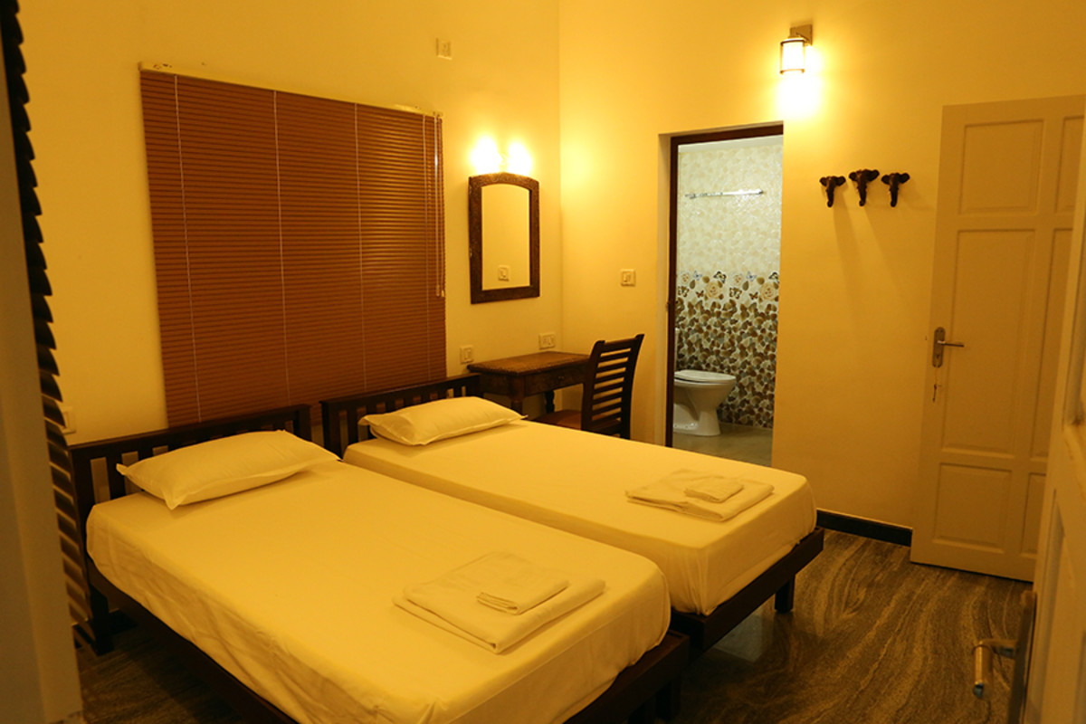 Twin / Double bed AC Room