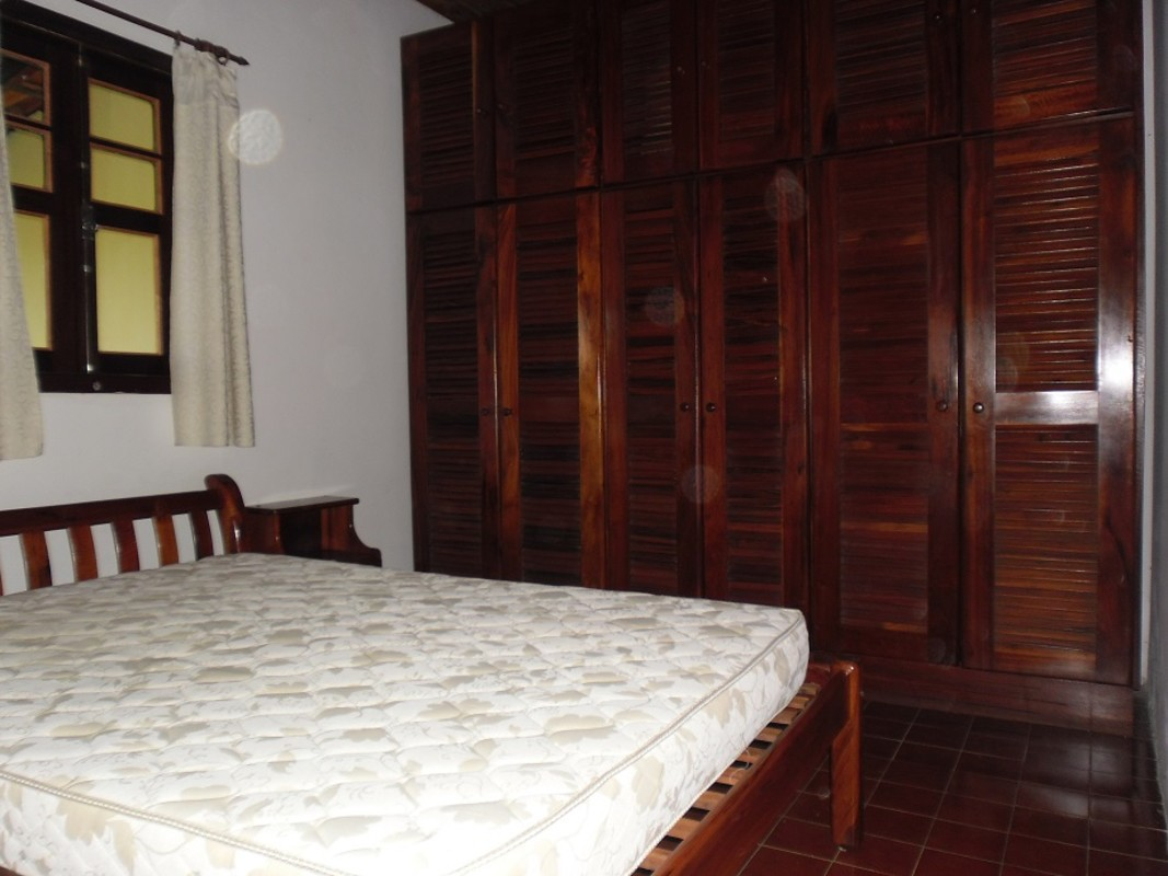 Double with big wardrobe space & aircon