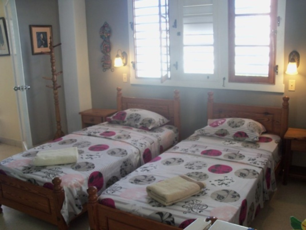 Double room with perfect lighting naturally