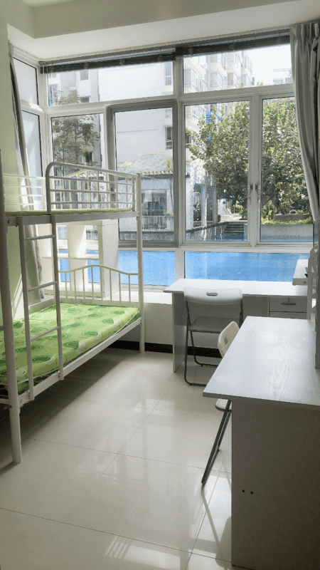 Beautiful huge swimming pool view wifi room