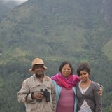 Famiglia a Kosgama Town, Kosgama, Sri Lanka