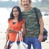 Família anfitriã em 800 M Zum Meer, Hikkaduwa, Sri Lanka