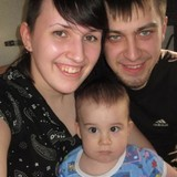 Familia anfitriona en Новокузнецк, Novokuznetsk, Russia
