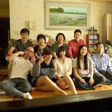 Familia anfitriona en Unam Songchu Maeul Apt., Jangheung-myeon, Gyeonggi-do, South Korea