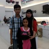 Familia anfitriona de Homestay Hamidin en Seremban, Malaysia