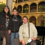 Familia anfitriona en El Ejido, León, Spain