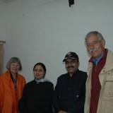 Famiglia a Hotel Complex Area, Agra, India
