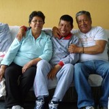 EcuadorEl Calzado, Quito的房主家庭