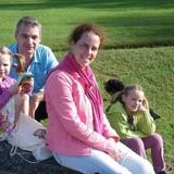 Familia anfitriona en Parc Montreau, Montreuil, France