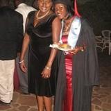 Família anfitriã em Upscale, Entebbe, Uganda