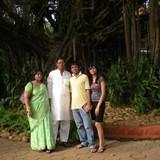 Familia anfitriona en Hauz Khas, New Delhi, India