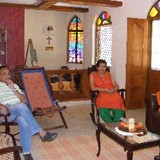 Família anfitriã em Colva, Colva, India