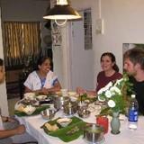 Familia anfitriona en Pune, India