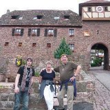 Família anfitriã em Dilsberg, Heidelberg Neckargemünd, Germany