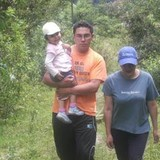 Família anfitriã em La Peninsula, Ambato, Ecuador