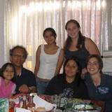 Familia anfitriona en Fracc. La Joya, Puebla, Mexico
