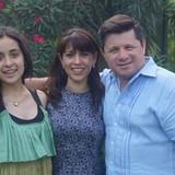 Famiglia a Carretera Nacional exit, Monterrey, Mexico