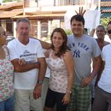 Familia anfitriona en Itaboraí, Niterói, Brazil