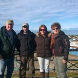 Famiglia a Jardin de la Patagonia , Punta Arenas, Chile