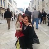 Famiglia a Old Town, dubrovnik, Croatia