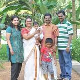Familia anfitriona en kumarakom, kumarakom, India