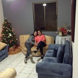 Familia anfitriona en Residencial el Claretiano , Heredia, Costa Rica
