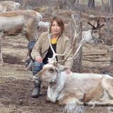 Famiglia a Bayanzurkh, Ulaanbaatar, Mongolia