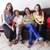 Familia anfitriona en Araés , Cuiabá, Brazil