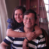 Familia anfitriona en Av. Venezuela con Av. Dolores, Arequipa, Peru