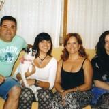 Familia anfitriona en Pedrera, monovar, Spain