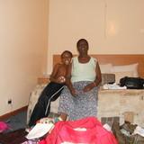 Família anfitriã Cassandra em Livingstone, Zambia