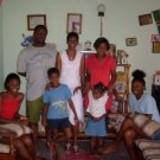 Família anfitriã Martin em Grand Fond, Dominica