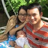 Famiglia a Cam Nam, Hoi An, Vietnam