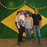 Família anfitriã em Brotas, Salvador, Brazil
