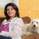 Famiglia a Antigua Guatemala, Sacatepequez, Guatemala