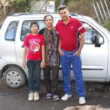 Famille d'accueil à TP-13, CHHANI JAKAT NAKA , VADODARA, India