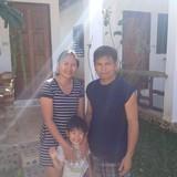 Famiglia a Near golden triangle park, Sob Ruak, Chiengsean, Thailand