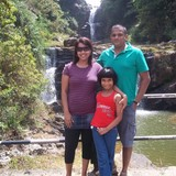 Famiglia a Wadduwa, Kalutara, Sri Lanka