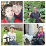 Famiglia a bobbio pellice, Bobbio Pellice, Italy