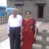 Familia anfitriona en Indra Nagri, Nashik, India