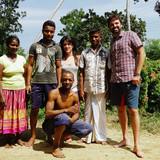 Família anfitriã em Tangalle, Tangalle, Sri Lanka