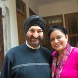 Famiglia a AMRITSAR, AMRITSAR, India