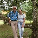Famiglia a 300 Norte del costado Este de la iglesia, Palmares, Costa Rica