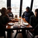 Família anfitriã Han em Seoul, South Korea