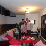 Família anfitriã Sandro em Cuenca, Ecuador