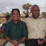 Host Family in Village Farmers , Liyanwela, Padukka., Sri Lanka