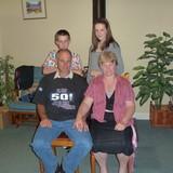 Família anfitriã em Moutajup, Australia