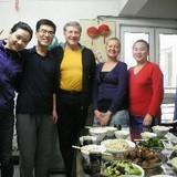 Famille d'accueil à Tiantan, Beijing, China